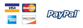 lizard leds accepts paypal, credit card, and debit card